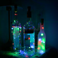 15 LED Night Light Cork Shape Starry Light String Wine Bottle Lamp Party&Wedding