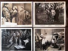 6 PHOTOS JOAN OF ARC 1948 INGRID BERGMAN   B&W  COLOUR SEPIA