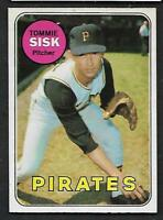 1969 Topps O-Pee-Chee OPC Baseball Lot Of 6 Pirates Well CENTERED Bunning EX/NM