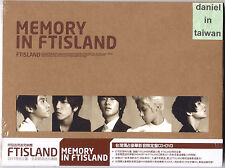 FTIsland: Memory in FTIsland (2011) Korea / CD & DVD TAIWAN