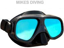 BEAVER ANTI-GLARE DIVING MASK BLACK dive snorkelling MASK ONLY