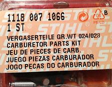 Stihl Vergaserteile Gr.WT 024 028 original Ersatzteil 11180071066 1118 007 1066