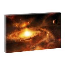 Top Bild Kunstdruck auf Leinwand Wandbild Deko XXL Universum 100 cm*65 cm 075