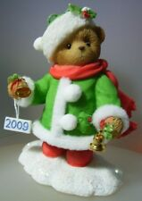 "CHERISHED TEDDIES ""NAN DATED 2009 CHRISTMAS THEME GROUP 4013430 MINT"