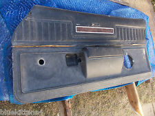 1973  EL CAMINO RIGHT DOOR PANEL HEAVY WEAR OEM USED ORIGINAL CHEVROLET