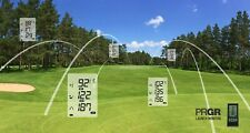 PRGR GOLF LAUNCH MONITOR MEASURES , SMASH FACTOR, DISTANCE, SWING & BALL SPEED