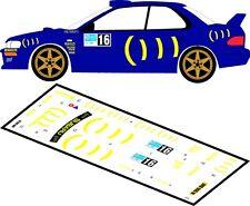 DECALS 1/43 SUBARU IMPREZA WRC - #16 - CHAMPION - RALLYE IRLANDE 2009 - D43072
