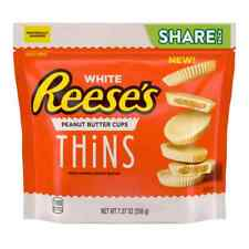 White Reese's Peanut Butter Cups Thins Share Pack 7.37oz