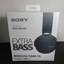 Sony Wireless Stereo Headset Extra Bass Bluetooth - Black - MDR-XB650BT/B
