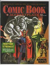 Comic Book MarketPlace #81    ( Doctor Strange / Iron Man / Ant Man Issue ) Mint