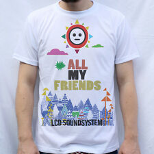 LCD Soundsystem Inspired All my Friens T shirt Design