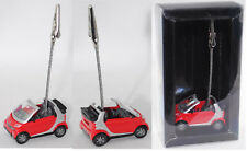 Siku Super 1042 smart fortwo cabrio passion, Zettelhalter, rot, ca. 1:50