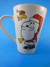 Snoopy & Woodstock Santa Claus Christmas Mug Cup 2012 Peanuts Megatoys