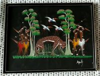 Africa by Anquilty Painting Framed