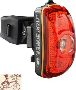 NITERIDER CHERRYBOMB 35 BICYCLE TAILIGHT