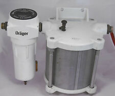 Dräger Druckbehälter ARML-0018 mit Filtereinheit 16 Bar Vakuumfilter