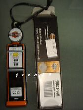 HARLEY-DAVIDSON 2013 HOLIDAY GAS PUMP ORNAMENT, 5'' ORANGE/BLACK. 96828-14V NIB