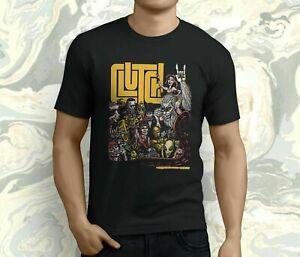 New Popular Clutch Concert American Rock Band Men's Black T-shirt S-5XL