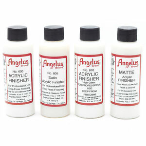 ANGELUS ACRYLIC FINISHERS  For Use with Acrylic Paints - 118mls - AU SELLER