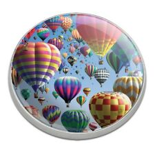 Hot Air Balloon Festival Up in the Air Golfing Premium Metal Golf Ball Marker
