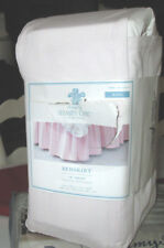 "Target SIMPLY SHABBY CHIC King Bedskirt 15"" BLUSH Pink RUFFLED Split Corners"