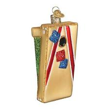Old World Christmas Corn Hole Game Holiday Ornament Glass
