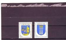 LITHUANIA - SG855-856 MNH 2005 TOWN ARMS