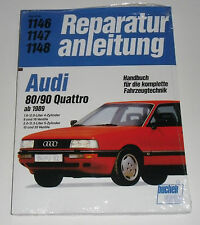 Reparaturanleitung Audi 80 Quattro / 90 Quattro B3 Typ 89, ab 1989