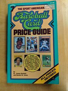 1985 Sport Americana Baseball Card Price Guide book #7 James Beckett