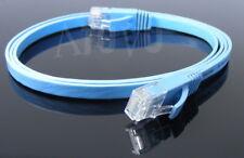 Cable Droit Ethernet Plat de 1m cat6 1000 BASE-T  Bp 1Gbps Cat 6  L = 1 m