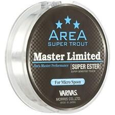 Morris Ester Linea Varivas Trota Master Limited Super 150m #0.5 2.3lb Nuovo