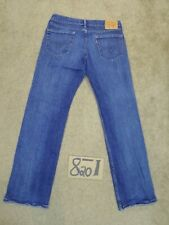 LEVI'S 559 RELAXED 34X34 MEAS 35X33 STRAIGHT BLUE STRETCH JEANS  #H132