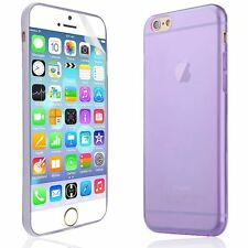 0.3mm Ultrafina cáscara suave TPU Gel caso cubierta trasera para iPhone 6 4.7 pulgadas