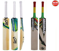 2 Pc Best Selling Cricket Bats Kookabuura Kahuna & Spartan CG Nokd Oil