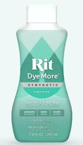 Rit DyeMore Liquid Synthetic Fiber Dye - 14 Colours - Polyester, Nylon, Acrylic