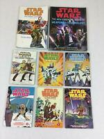 Star Wars Clone Wars Books Science Fiction Weapons & Technology Set Of 8