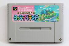 Yoshi Island Super Mario World 2 SFC Nintendo Super Famicom SNES Japan Import