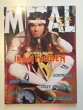 METAL SHOCK -  N° 18 - 1988 - RIVISTA MUSICA - IRON MAIDEN - OSBOURNE