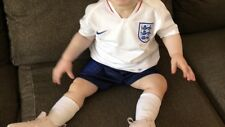 Personalised 2018 Official England White Home Kit infant 12-18 Months Ella 1