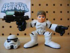 Star Wars Galactic Heroes LUKE SKYWALKER in Stormtrooper Disguise w/ Helmet