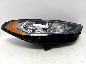 2017-2019 Ford Fusion Halogen Headlight Right Hand OEM HS73-13W030