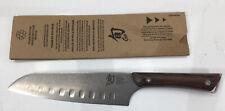 """Shun, 7"""" Santoku Knife SWT0718, Wooden Handle"""