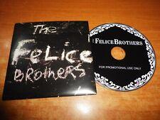 THE FELICE BROTHERS CD ALBUM PROMO CARTON CONTIENE 15 TEMAS