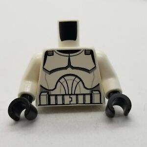 NEW LEGO | Minifigure Torso - Clone Trooper Armor Clone Wars (Star Wars)