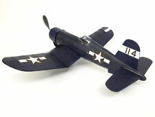 F4U Corsair #615 Vintage Co Balsa Wood Model Airplane Kits Rubber Pwd.
