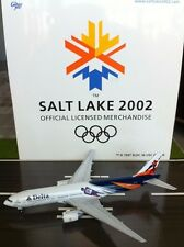 DELTA AIRLINES B777 SALT LAKE  GEMINI JETSRARE  1:400 SCALE