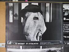 353 SET COMPLETO 9 FOTOCROMOS, EL HOMBRE ELEFANTE, ANTHONY HOPKINS, JOHN HURT