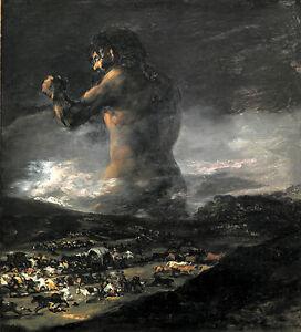 Francisco de Goya - El coloso Vintage Fine Art Print