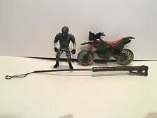 Jurassic Park The Lost World Dino/Snare Dirtbike With Figure Vintage