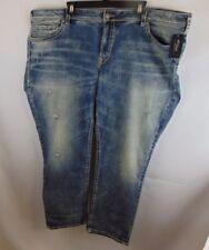 Silver Men 49x28 Jeans Boyfriend Fluid Denim Missed Sized New With Defects.